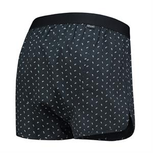 A-dam Underwear 1P PETER Black white print