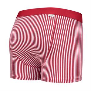A-dam Underwear 1P TJEERD red stripe