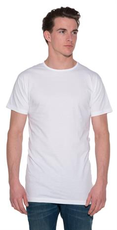 Alan Red Derby T-shirt 2-pack extra lang