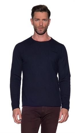 Blue Industry Pullover O-hals