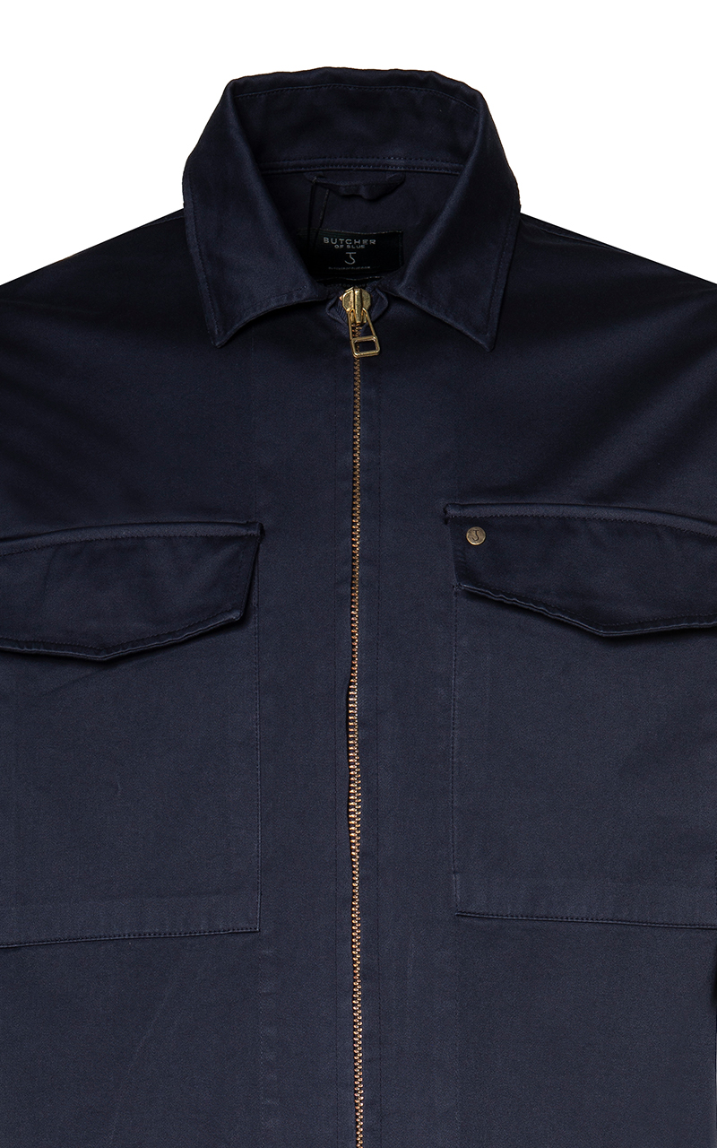 Butcher of Blue Casual Heren Overhemd LM