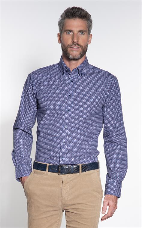 Campbell Classic Casual overhemd LM