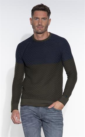 Cast Iron Pullover O-hals
