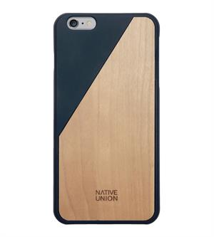 Native Union Clic Wooden Phone Case Donker blauw