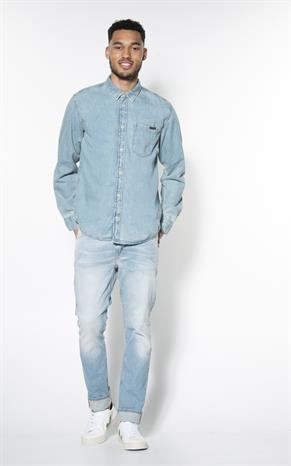 Nudie Jeans Casual Overhemd LM