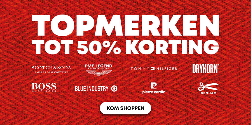 Outlet - 1 - 50% korting
