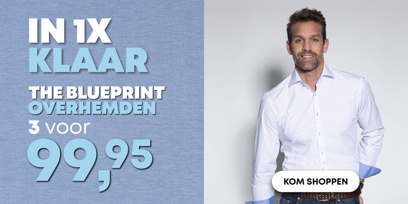Outlet - 2 - Trendy Shirts 3 voor 99,95