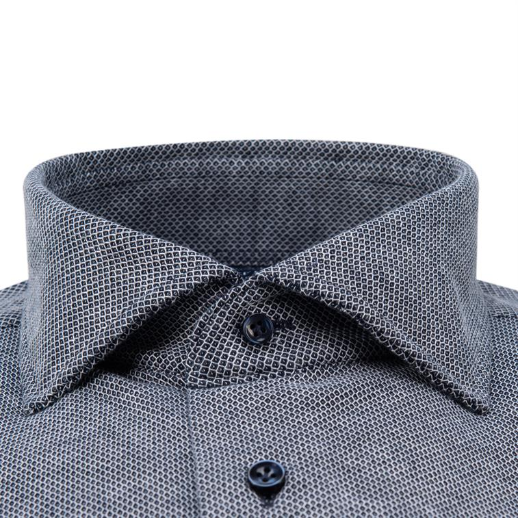 Profuomo Originale Slim fit Knitted Overhemd LM