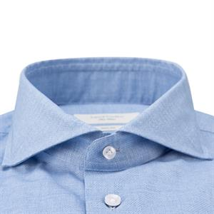 Profuomo Sky Blue Slim fit Overhemd LM