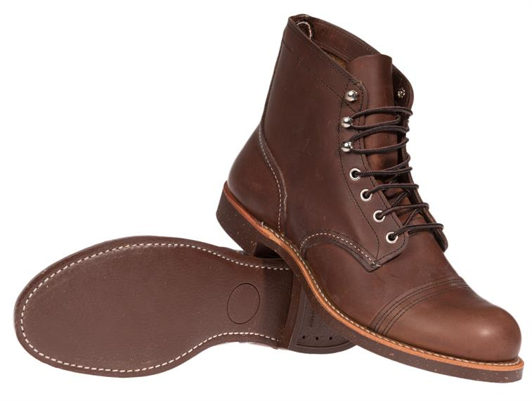 Red Wing Shoes Iron Ranger Amber Harness
