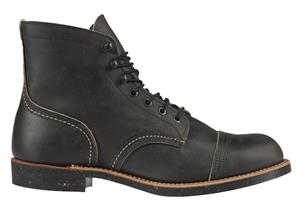 Red Wing Shoes Iron Ranger Boots Zwart