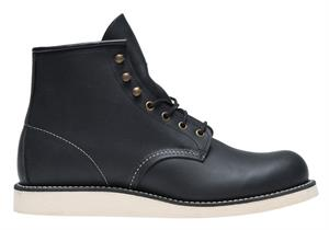 Red Wing Shoes Rover Black Harness Boots