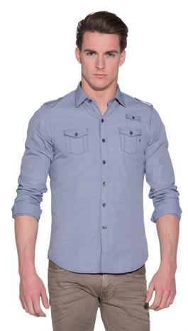 Replay Casual shirt LM Blauw