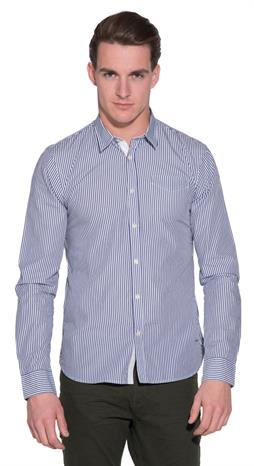 Scotch & Soda Casual shirt LM Blauw