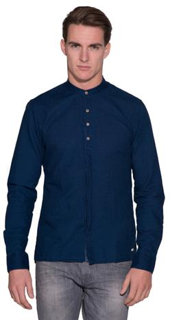 Scotch&Soda Casual shirt LM Donker blauw