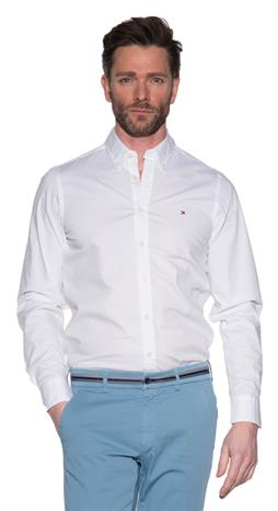 Tommy Hilfiger Menswear Casual shirt LM Wit
