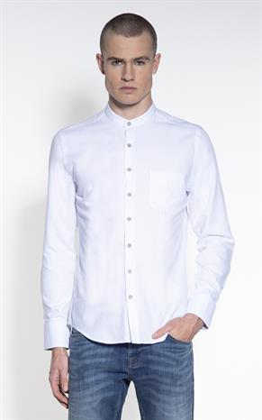 Casual Wit Overhemd.Casual Overhemd Voor Heren Shop Online Only For Men